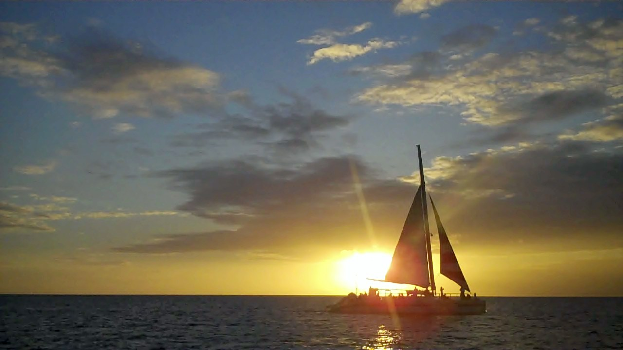 Sailing Charters on Aruba  Blue Melody & Black Pearl